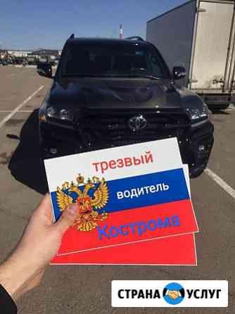 Трезвый водитель 44 Кострома