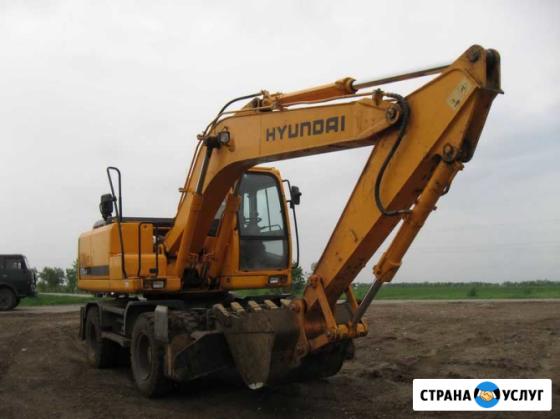 Аренда экскаватора Hyundai 170R Красноярск