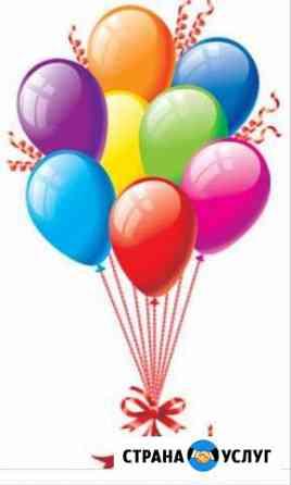 Гелиевые шары. Композиции и гирлянды из воздушных Инжавино