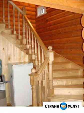 Лестницы деревянные на метало каркасе Горно-Алтайск