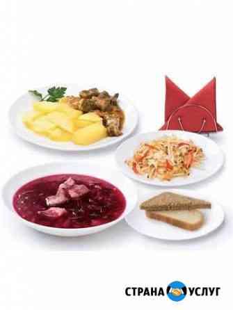Доставка комплексных обедов Липецк