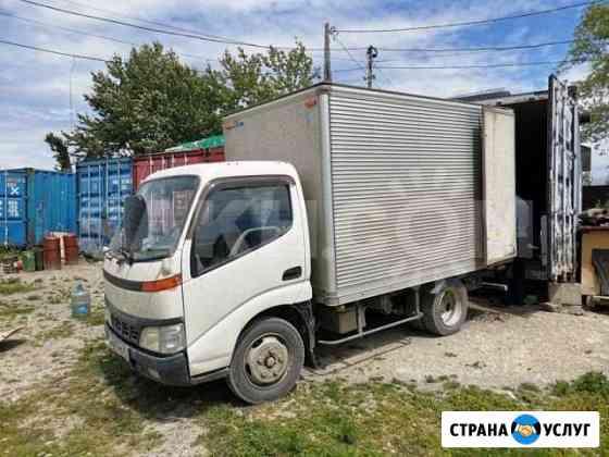 Услуги грузоперевозок - фургон 3 тонны Смирных