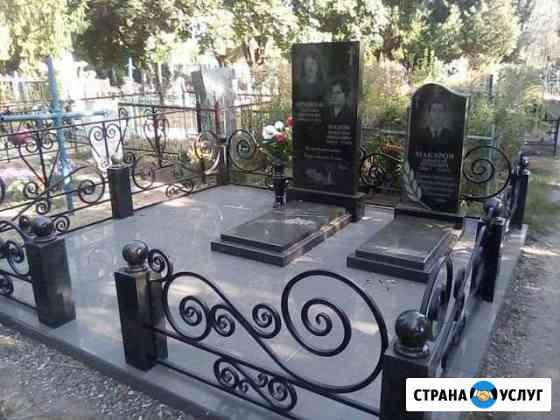 Работы на кладбище Острогожск