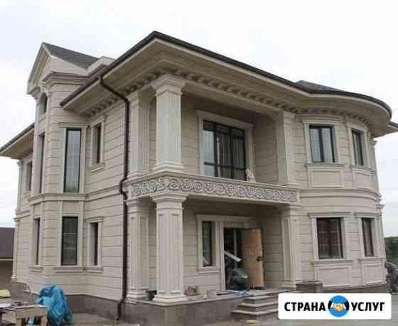 Фасадный декор.Фигурная резка пенопласта Ульяновск