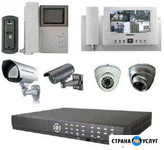 Установка и монтаж систем видеонаблюдения Богданович