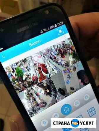 Монтаж, продажа, обслуживание видеонаблюдения Саратов