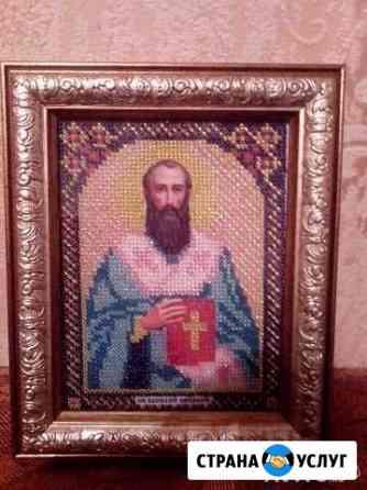 Вышивка бисером Псков