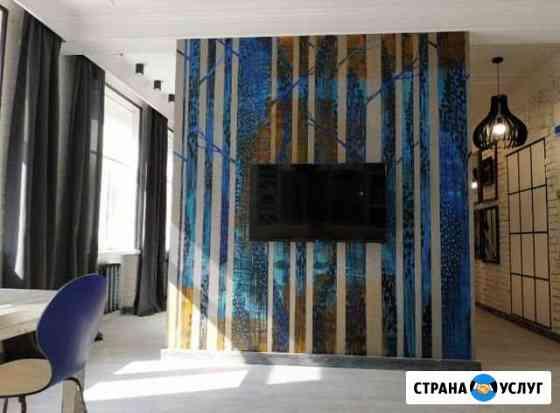 Декоративная роспись стен(фрески) Калининград