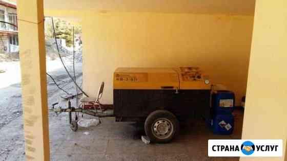 Аренда компрессора с отбойными молотками Владикавказ
