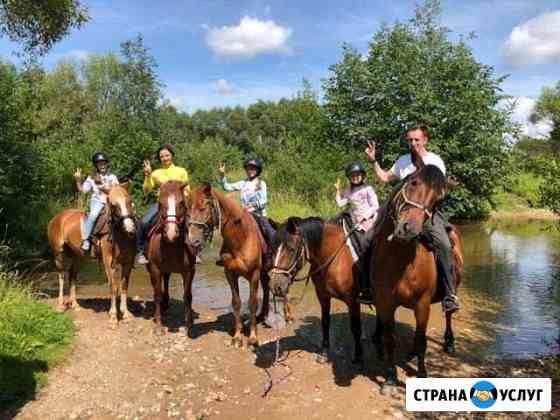 Конные прогулки, экскурсии, квесты, праздники Ржев