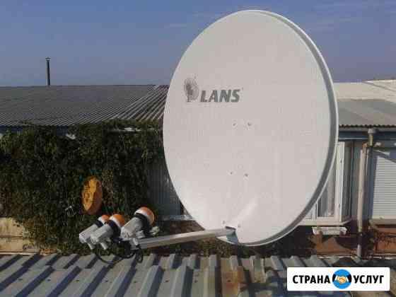 Установка спутникового и эфирного телевидения Симферополь