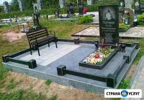 Памятники, благоустройство захоронений Калининград