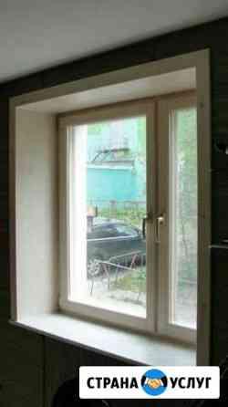 Изготовление деревянных окон Мурманск