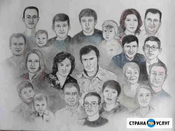 Рисую, пишу портреты, картины, копии на заказ Лесосибирск