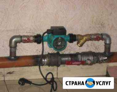 Установка циркуляционного насоса Астрахань