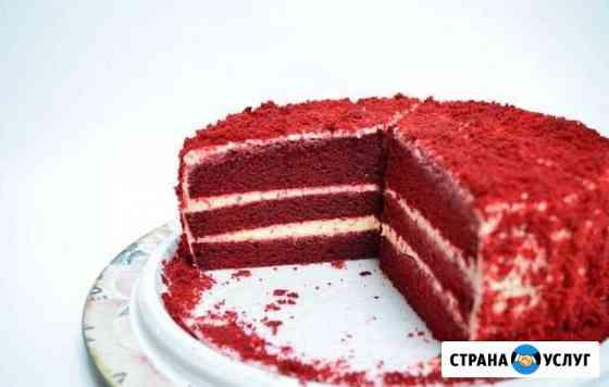 Торт Красный бархат Томск