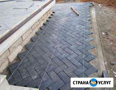 Укладка тротуарной плитки Яблоновский