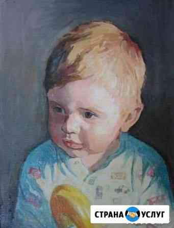 Портреты на заказ. Уроки рисования на дому Владимир