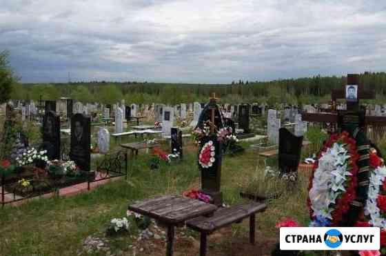 Благоустройство могил Октябрьский