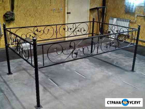 Изготовление оградок,скамеек,столиков и т.д.Аргон Петрозаводск