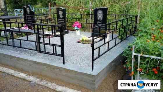 Благоустройство захоронений Великий Новгород