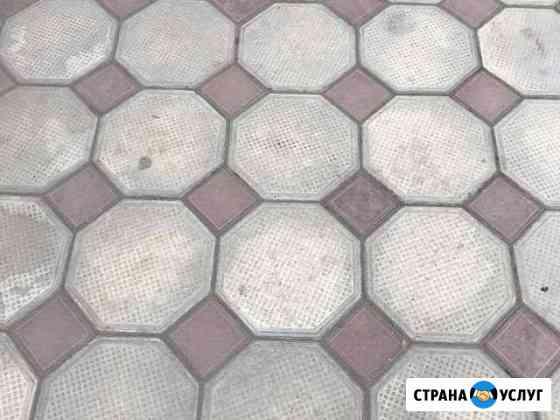 Тротуарная б/у плитка Грозный