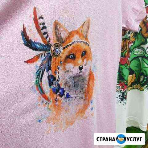 Печать на футболках Тверь