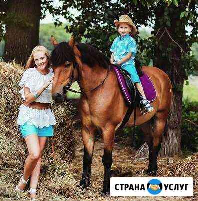 Фотосессии с лошадьми, конные прогулки Старотимошкино