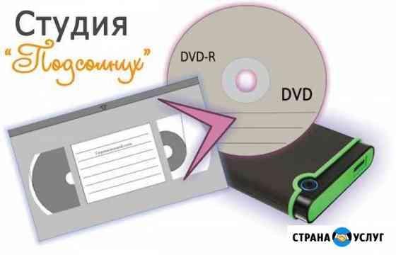 Оцифровка видео кассет Воткинск