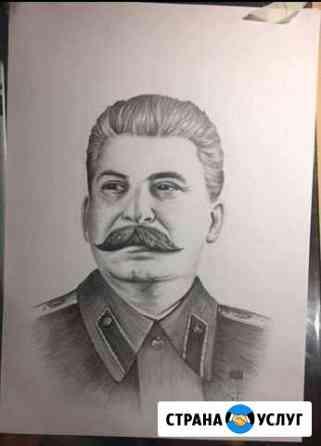 Портрет в карандаше Оренбург