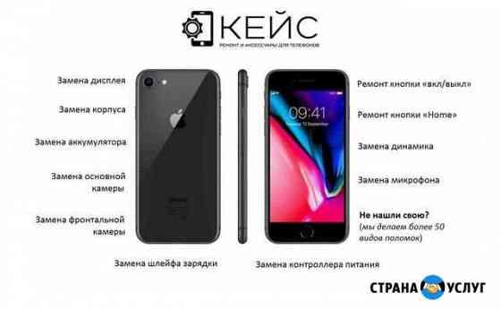 Ремонт телефонов (iPhone/Android) Архангельск
