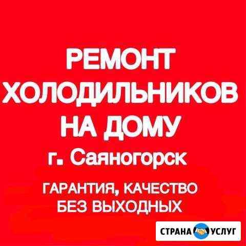 Ремонт холодильников Саяногорск