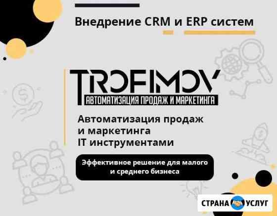 Внедрение CRM, ERP систем - Amo CRM, Битрикс24, др Рудня