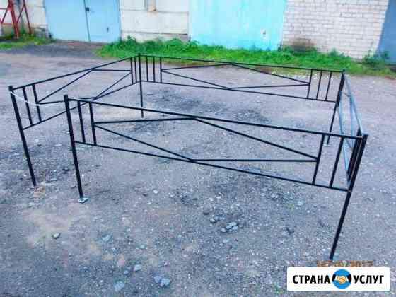 Ограда ритуальная Великий Новгород