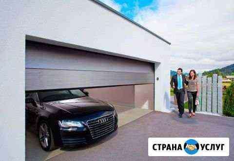 Секционные, гаражные ворота Алютех Абакан