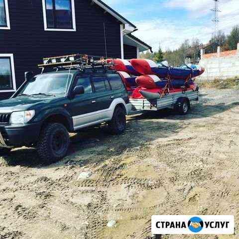 Джип-тур, сплавы по рекам,походы,заброски Мурманск