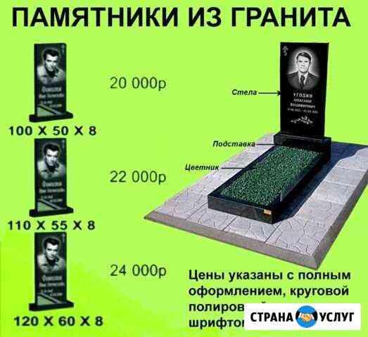 Изготовление памятников Андреево