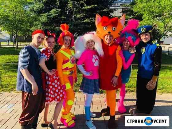 Весёлый отдых с нашими персонажами Обнинск