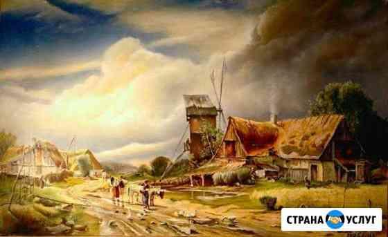 Картины, портреты, фрески Калининград