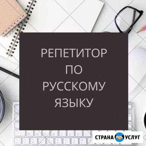 Репетитор по русскогому языку и литературе Абакан