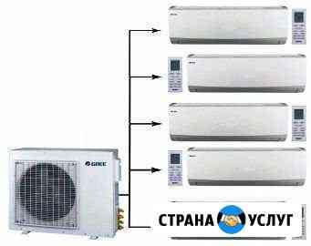 Установка кондиционеров, демонтаж и любой сервис Санкт-Петербург