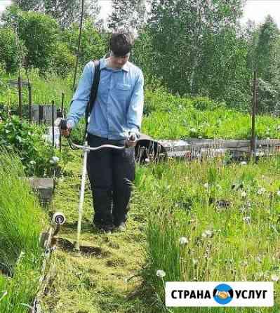 Косьба травы, электромонтаж, пахота Томск