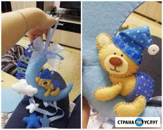 Детский мобиль на кроватку ручной работы Тюмень