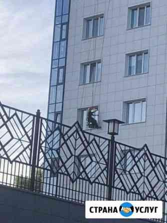 Мойка фасадов Хабаровск