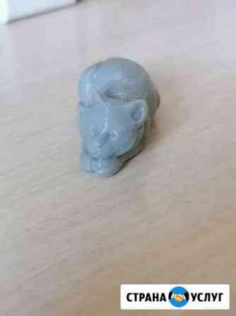 Печать на 3 д принтере. фигурки Иркутск