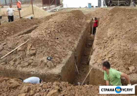 Земляные работы, Уборка участков Тамбов