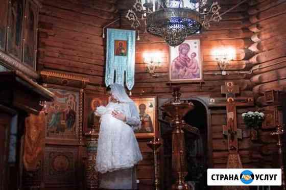 Фотограф крещения в Орле Змиёвка