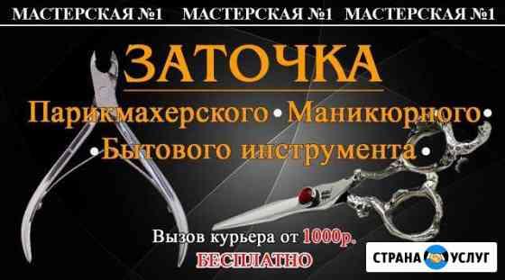 Заточка парикмахерского и маникюрного инструмента Железногорск