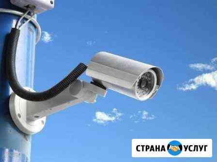 Монтаж и обслуживание видеонаблюдения Красноярск