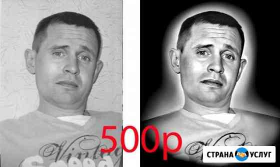 Ретушь портретов для памятников и плитки Екатеринбург